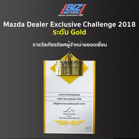 Mazda Dealer Exclusive Challenge 2018